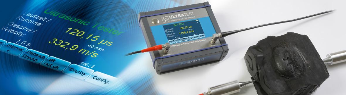 BP-700 Portabler Ultraschall-Tester